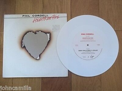 "Phil Cordell - Hearts On Fire 12"" Record / Vinyl - Virgin - Vs 24612"