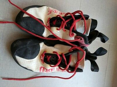 Mad Rock Redline Climbing Shoes - 11 Men's - Red White Black - Used Once