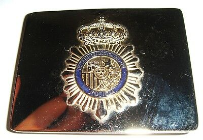 Sapin National Police Gala Belt Buckle