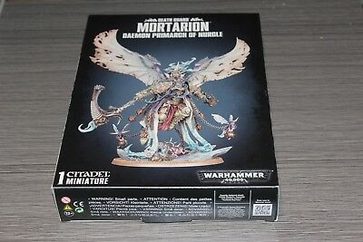Warhammer Chaos Space Marine Death Guard Lord Mortarion