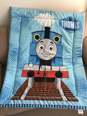 Thomas The Tank Cot Quilt/Play Mat Handmade NEW