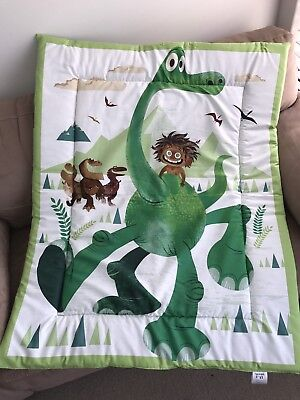 The Good Dinosaur Cot Quilt or Playmat Handmade NEW