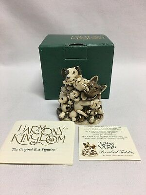Harmony Kingdom Petty Perished Teddies TJTB Mint w/ Box