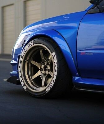 """Permanent Tire Letters 1"""" Toyo Tires Proxes Fits: Exsample 195/45/ R15-78V Tires"""