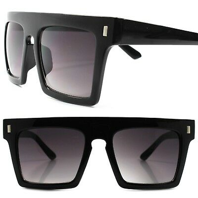 2fba707b6888 Classic Retro 80s 90s Swag Hip Hop Clubbing Mens Womens Square Black  Sunglasses
