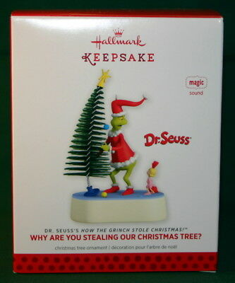 Hallmark  2013 Why Are You Stealing Our Christmas Tree- Dr. Seuss- Magic  Sound