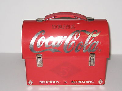 Small Metal Coca Cola Lunchbox 2003..replica