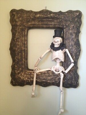 Bethany Lowe Framed Skeleton--retired