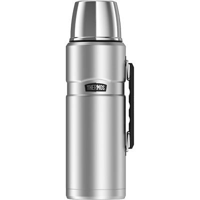 Thermos Stainless King Insulated Stainless Steel Beverage Bottle 2.0L