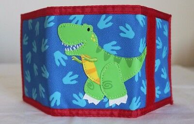 Tri-Fold Children's Dinosaur Wallet