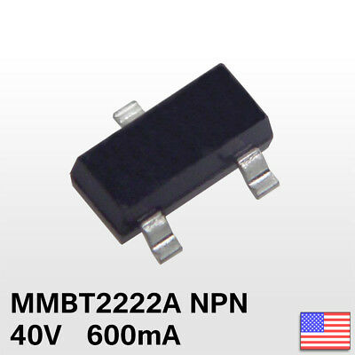 20x 20pcs MMBT2222A SOT-23 2N2222A SMD NPN Transistor 1P - Fast Ship from USA