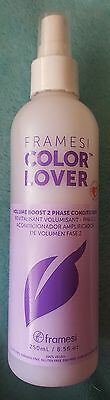 Reduced price!LOT OF 5 NEW Framesi Color Lover Volume Boost 2 Phase Conditioner