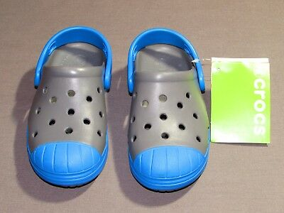 c35bbd0f1 NEW WITH TAGS Children s Crocs Black Oyster Bump It Clog K Size C10 ...