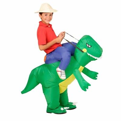 Inflatable Dinosaur Costume Kids Girl Boy Suits Animal Fancy Halloween costume