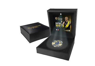 Dustin Martin Richmond 2017 Brownlow Medallist in Display LED Black Box - DUSTY