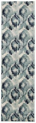 Hallway Runner Rug Hall Runner Blue New Floor Carpet Mat Modern 4 Meters Long