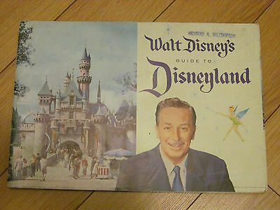 2 Walt Disney's Guide to Disneyland 1958 and 1959