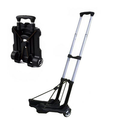 New Small portable luggage lightweight cart retractable folding trailer handcart
