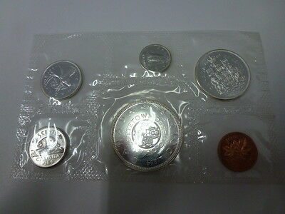 1964 Canada Mint 6 Coin Silver Set