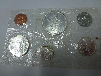 1965 Canada Mint 6 Coin Silver Set