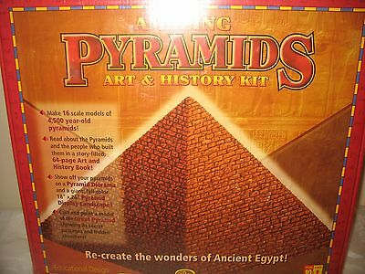 Amazing Pyramids Art and History Kit - Design And Learn About Pyramids