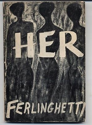 Her by Lawrence Ferlinghetti Paperback Book (English) Vintage 1960