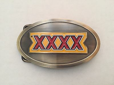XXXX Beer Belt Buckle New