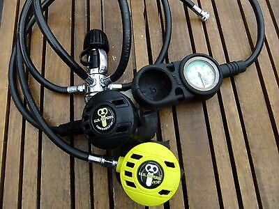 Scuba diving regulator set, US Divers Conshelf 22