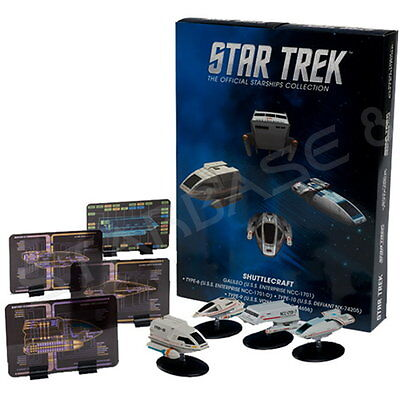 Star Trek Eaglemoss Shuttle Special Set 1 Raumschiffsammlung Starship Collection