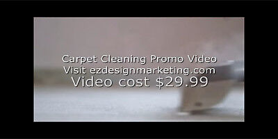 Carpet Cleaning Generic Video Commercial - Video Marketing