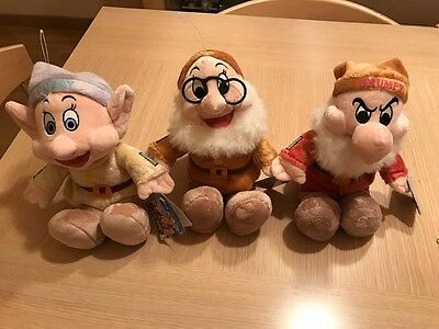 Peluches Enanitos Blancanieves Snow White And The Seven Dwarfs Plush Disney