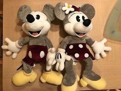 Peluches Mickey y Minnie Mickey & Minnie Plush Disney Quiron