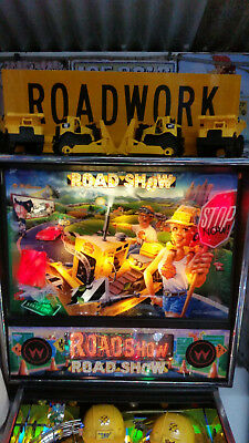 Road Show Pinball Machine 1994 with Custom Topper