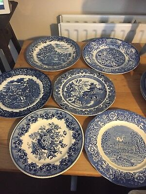 WEDDING STOCK 💍 Price Per Plate £3 Blue & White Dinner Plates 56 Available