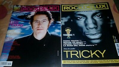 2x1 magazine revista ELVIS PERKINS TRICKY SONIC YOUTH THE BEATLES rare mag lot