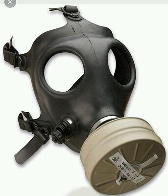 Israeli Gas Mask NBC- Military Issued +Accessories - BRAND NEW SEALED PACKAGE