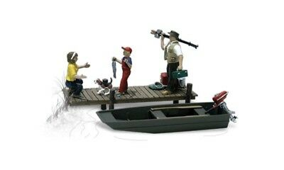 Woodland Scenics A1923 Accents Family Fishing Ho Scale