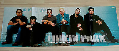 Giant LINKIN PARK CHESTER BENNINGTON banner poster from Germany Europe RARE 1
