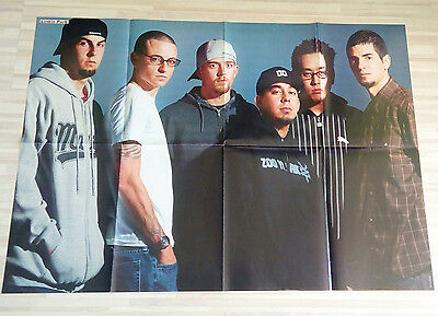 Giant LINKIN PARK / CHESTER BENNINGTON poster from Germany Europe RARE HUGE