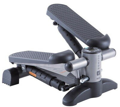 Domyos Twister Fitness Stepper Resistance Home Train Exercise Gym Machine Black