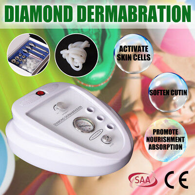 Diamond Dermabrasion Microdermabrasion System Simple Operate Machine AU SELLER