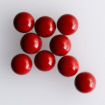 6MM Round Shape, Red Coral Calibrated Cabochons AG-231