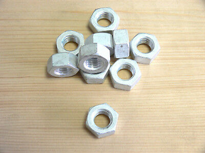 Hexagon Nuts M4 , 5 , 6 , 8 , DIN 934 , Aluminum , nuts, Hex nut