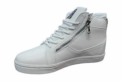 Sneakers Blanc Gymnastique Lacets Hommes Cuir Bas Sportif Chaussures trdxQshC