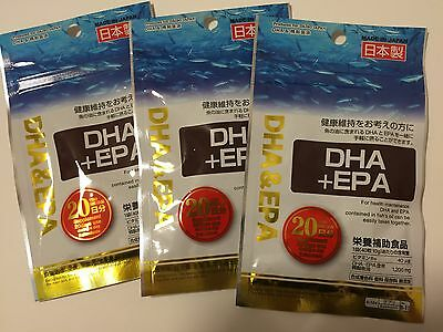 60days  DHA plus EPA (fish oil)  Dietary Supplements DAISO JAPAN Made in JAPAN