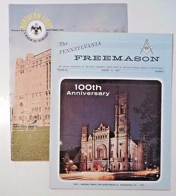 The Northern Light Sept 1973 - DC Museum & Library + PA Freemason Issue