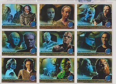 Enterprise Season 2 First Contact Set X 9 Cards F13-F21 Inc.