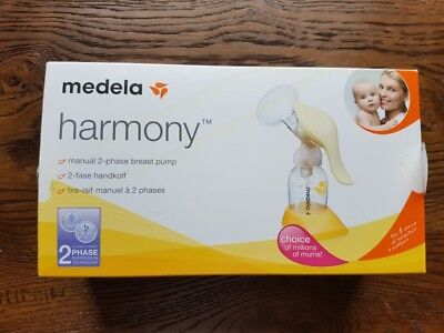Medela harmony breast pump (New unwrapped)