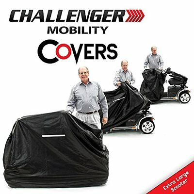 Extra Large Mobility Cover for big Scooter - Heavy Duty Light Vinyl Weather - XL