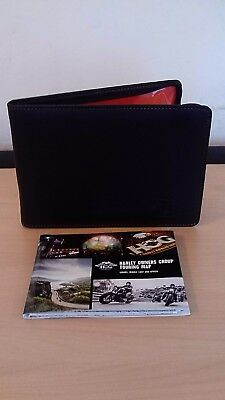 Genuine Harley Davidson Owners Manual Document Wallet / Folder and touring map
